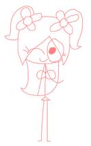 Rosie drawing 2