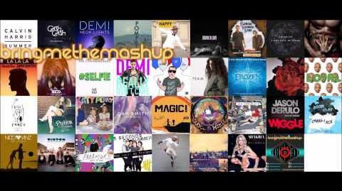34 Hit Songs!!! BRINGMETHESUMMER 2014 Mega-Mashup - bringmethemashup-0