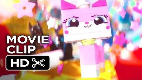 The Lego Movie CLIP - Cloud Cuckoo Land (2014) - Morgan Freeman, Chris Pratt Movie HD