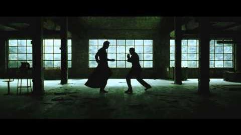 The Matrix reloaded Neo Vs Smiths