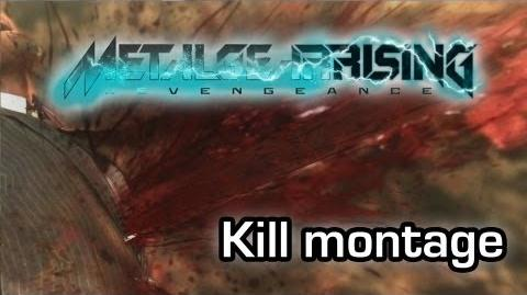 Metal Gear Rising Revengeance - Epic kill montage (Gameplay 1080p)