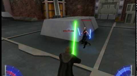 Jedi Academy Jaden vs Alora