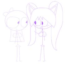 Kitty and Lilac