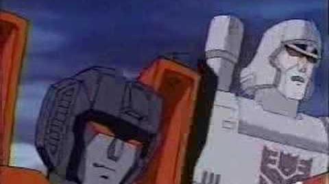 Transformers - Megatron vs Starscream