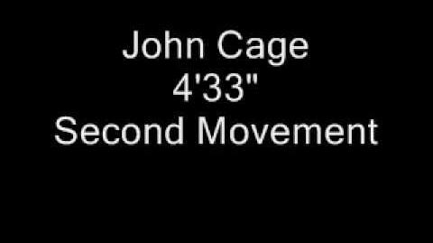 """4'33"""" by John Cage"""