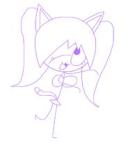 Kitty drawing