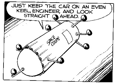 Cornered comic strip by mike baldwin