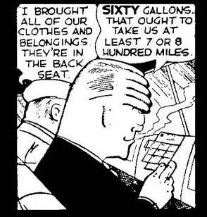 The brow dick tracy