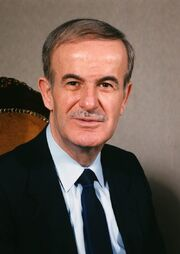 Hafez al-Assad official portrait
