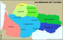 Los dialectes de l'occitan