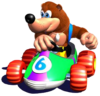 Banjo Artwork - Diddy Kong Racing