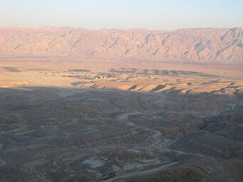 Wadi Aravah Sunset Israel Jordan