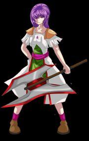 Warrior version 2 by animluster