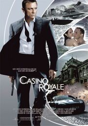 DHS- Casino Royale (2006) version 5 movie poster
