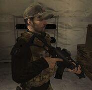 DHS- Craig Fairbrass in COD Modern Warfare