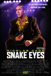 DHS- Snake Eyes (1999) alt movie poster