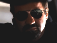 DHS- Cole S. McKay as Federal Agent in car in Detonator (2003)