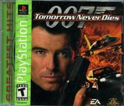 DHS- 007 Tomorrow Never Dies videogame