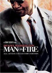 DHS- Man on Fire (2004) special edition DVD cover art