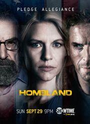 DHS- Homeland Season 3 poster