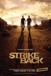 DHS- Strike Back Season 3 Vengeance US poster version