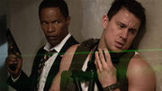 White-House-Down Jamie Foxx and Channing Tatum