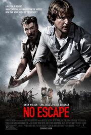 DHS- No Escape (2015) movie poster