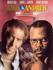 DHS- Amos & Andrew crime comedy film dvd cover