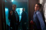 DHS- Dolph Lundgren and Jon Huertas in Stash House