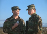 DHS- Mark Dacascos and Tim Abell in The Base