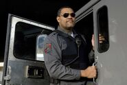 DHS- Laurence Fishburne in Armored