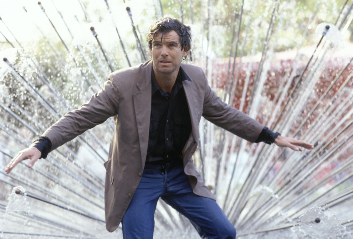 Image - DHS- Pierce Brosnon in Live Wire.jpg | Die Hard scenario ...
