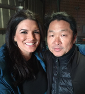 DHS- BTS of Extraction (2016) with Gina Carano and Simon Rhee