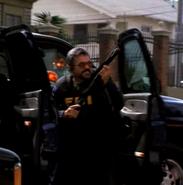 DHS- FBI agent with shotgun briefly seen (stuntman John Cade) in Detonator (2003)