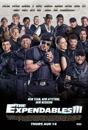 DHS- Expendables III (2014) movie poster