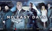 DHS- No Easy Days wide tv show promo poster