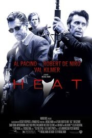 DHS- Heat (1995) newer silk movie poster