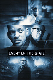 DHS- Enemy of the State (1998) movie poster alternate version