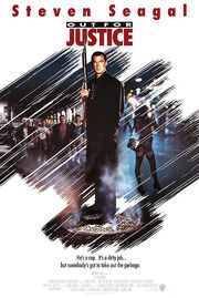 DHS- Out for Justice Seagal movie poster