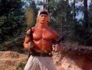 DHS- David 'Shark' Fralick in Invasion Force (1990)