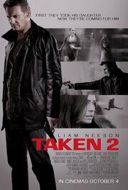 DHS- Taken 2 movie poster