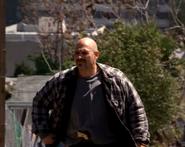 DHS- James Grime terrorist member no.1 (Nils Allen Stewart) in Detonator (2003)