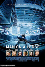 DHS- Man on a Ledge movie poster