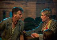 DHS- Pierce Brosnan and Owen Wilson in No Escape (2015)