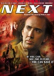 DHS- Next 2007 alternate dvd cover poster
