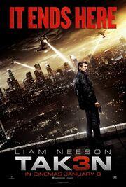 DHS- Taken 3 (Tak3n) movie poster