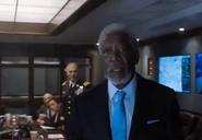 DHS- Morgan Freeman in London Has Fallen (2016)