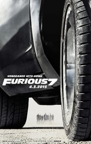DHS- Fast and Furious 7 movie poster