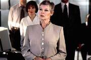 DHS- M (Judi Dench) in GoldenEye (1995 007 film)