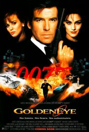 DHS- GoldenEye (1995) alternative movie poster